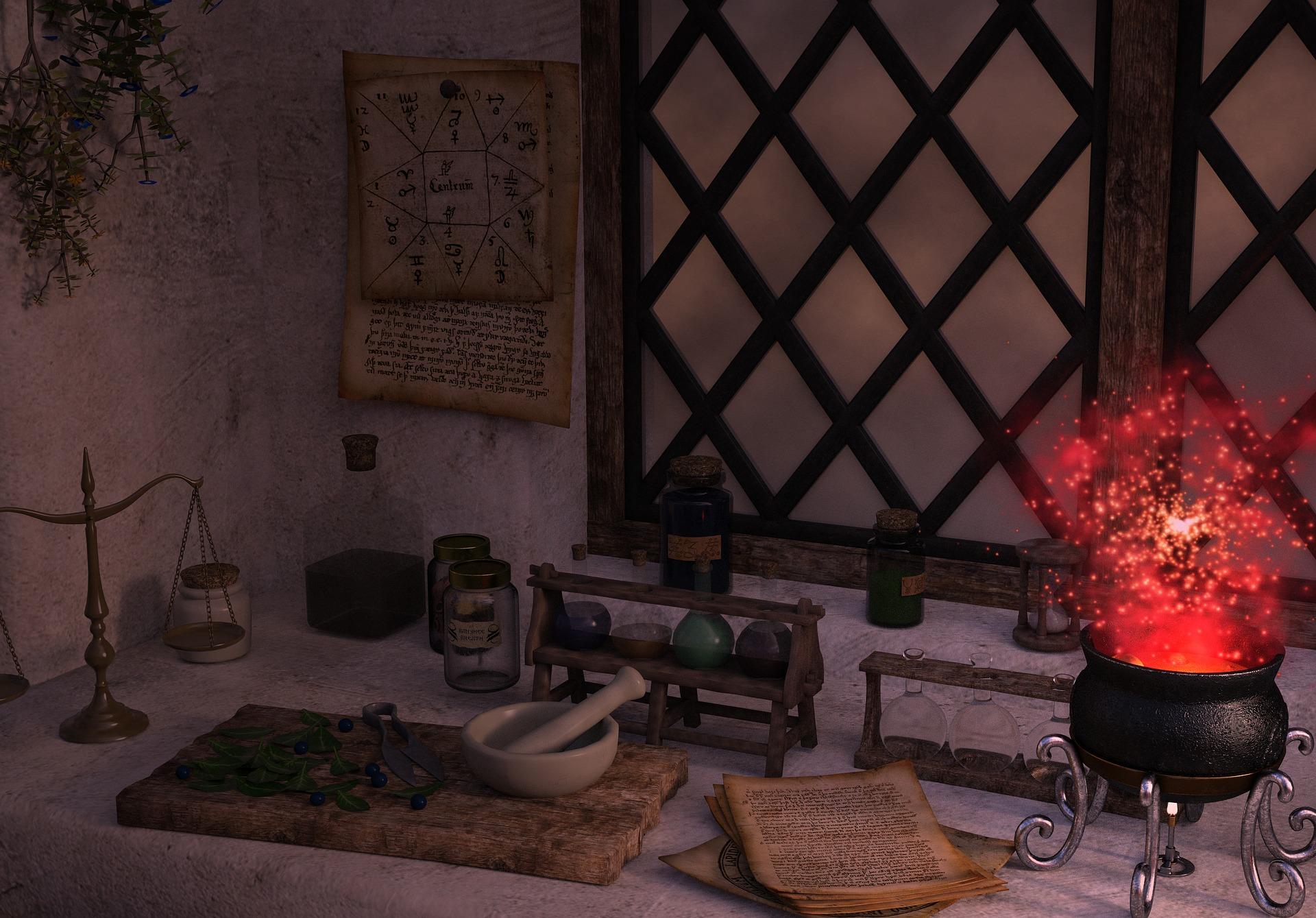 Eliksiry i mikstury, czyli magiczne praktyki kulinarne