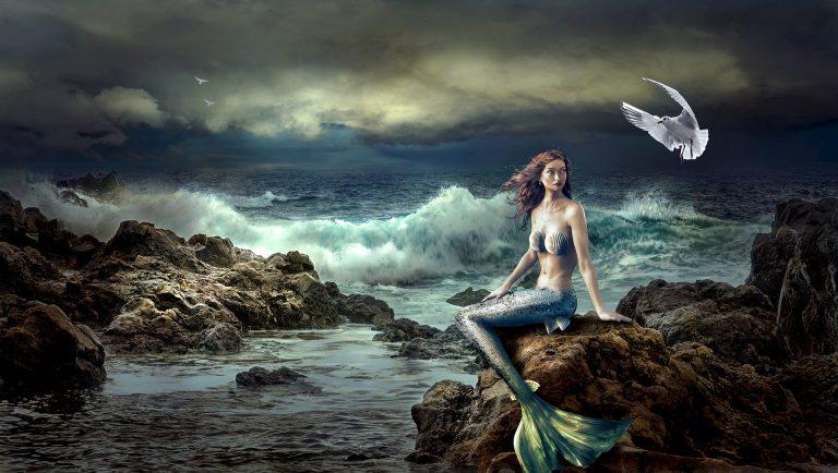 Syreny – mitologiczne piękności, czyhające na życie żeglarzy